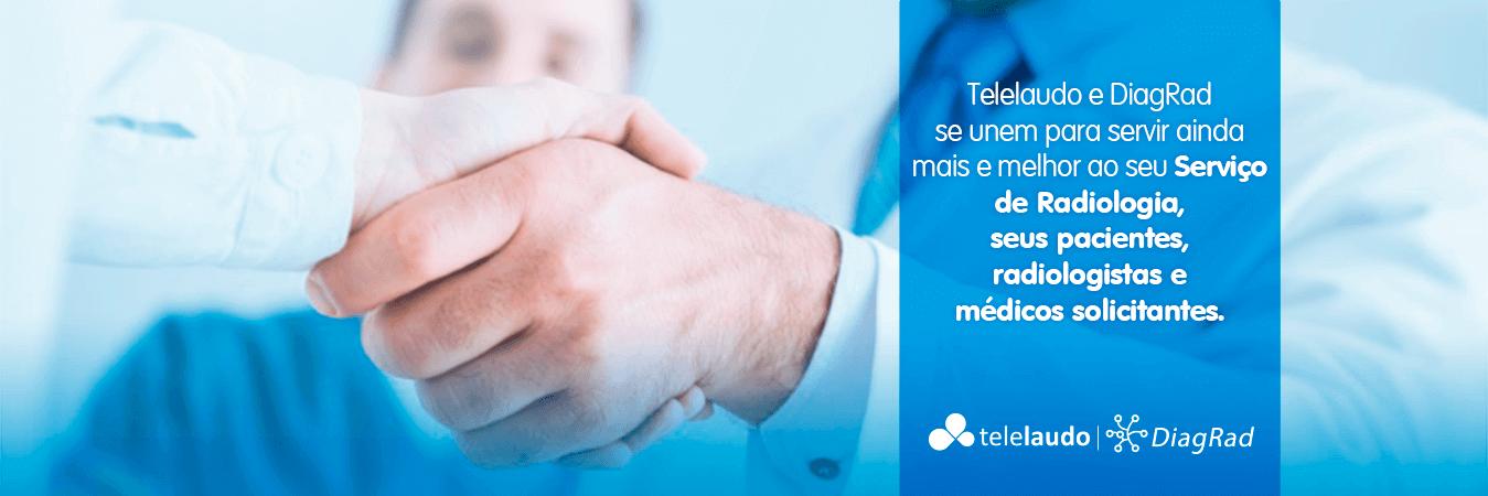 Veja mais da parceria Telelaudo e Diagrad